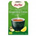 Yogi Tea - Groene thee gember citroen 1x17 zakjes