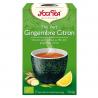 Groene thee gember citroen 1x17 zakjes Bio