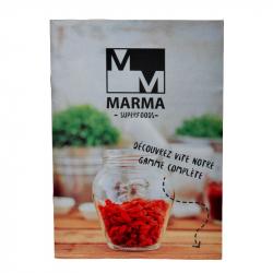 Livre d'informations superfoods, Marma, Livres
