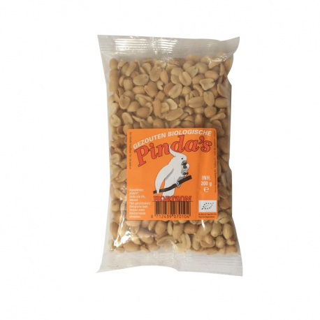 Gezouten pinda's 200g,Snacks en crackers