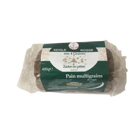 Pain farine de seigle et 4 grains 400g, VAJRA, Pains, toasts et