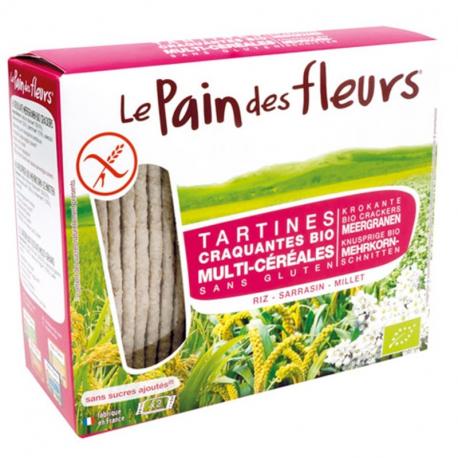 PAIN DES FELURS Crackers meergranen- biologisch 150g,Brood,