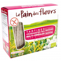 PAIN DES FLEURS Crackers multi-cereal (organic) 150g
