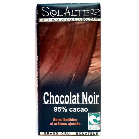 Schokolade 95% Kakao 90g