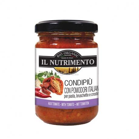 Tapenade tomate et herbes (condipiu) 130g, NUTRIMENTO, Anti