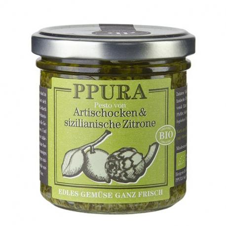 Pesto Artischocken - zitrone 140g