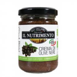 Tapenade d'olives noires 130g, NUTRIMENTO, Anti pasti et