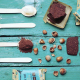 RHYTHM 108 Koekjes chocola hazelnoot 24g,Biscuits en zoetwaren