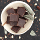 Chocolade 85% cacao 90g,Chocolaatjes
