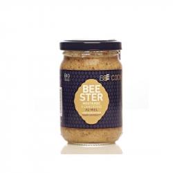Grove mosterd met honing (biologisch)250g,Azijn en mosterd