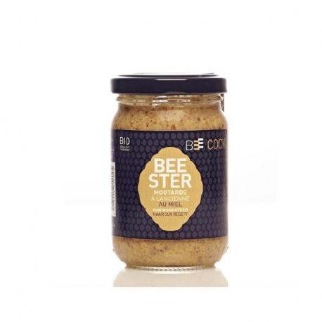 Whole grain mustard with honey (organic) 250g