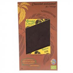 Chocolat noir 75% nature Bio