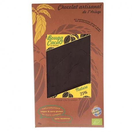 Dark Chocolate 75% natural (organic)