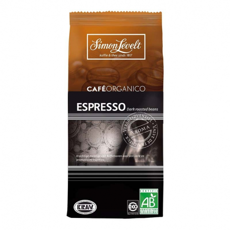 Espresso coffee organic (beans) 250g
