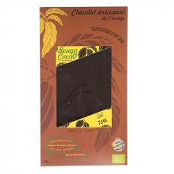 Chocolat noir au sel Bio 70g
