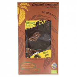 Chocolat noir figue Bio 70g