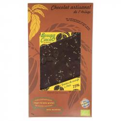 Dark Chocolate with aniseed and pumpkin seeds (organic) 70g