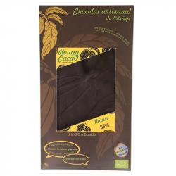 Chocolat noir 85% nature Bio