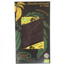 Chocolat noir 100% nature Bio