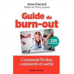 """""""Le Guide du Burnout"""" de Anne Everard, Albin Michel, Livres"""
