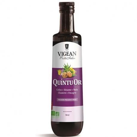 QuintOR olie (koolzaad, sesam, noten, hennep, teunisbloem)