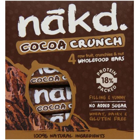 Bars Nakd Crunch Cacao 4x30g