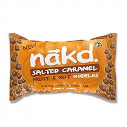 Nakd Nibbles toffee treat 40g,Bars
