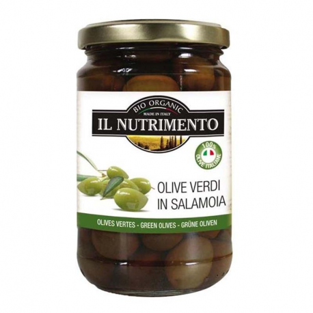 Olives vertes 280g, NUTRIMENTO, Anti pasti et tapenades