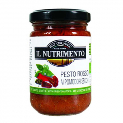Pesto rosso tomate 140g, NUTRIMENTO, Anti pasti et tapenades