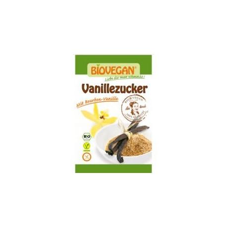 Sucre de canne complet vanillé 5x8g, Biovegan, Miels et