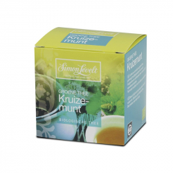 SIMON LEVELT Green Tea Mint tea, 10 bags