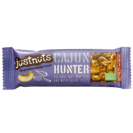 Just Nuts barre Cajun Hunter 30g, Just Nuts, Barres