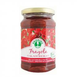 Confiture de fraises (sans sucre) 330g, PROBIOS, Confitures