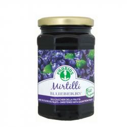 Marmelade mit Heidelbeeren (ohne zucker) 330g
