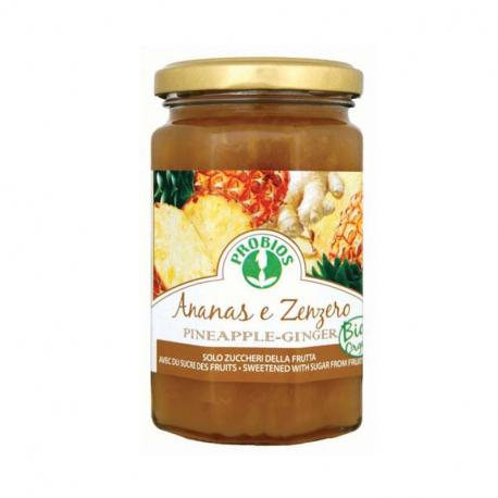 Marmelade Ananas-Ingwer (ohne Zucker) 330g
