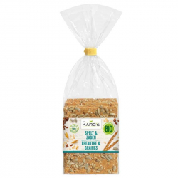 Dr Karg's Crackers spelt and seeds (sugar free and bio) 200g