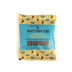 RHYTHM 108 Cookies with chocolate and hazelnuts 24g