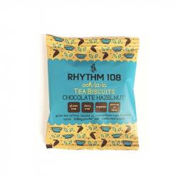 RHYTHM 108 Biskuit schokolade haselnüsse 24g