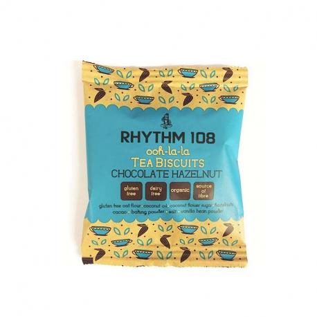 RHYTHM 108 Biscuit chocolat noisette 24g, Rhythm, Biscuits et