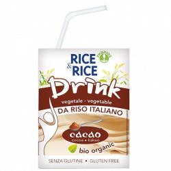Boisson de riz au chocolat 200ml, RICE & RICE, Laits végétaux