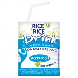 Boisson de riz nature 200ml, RICE & RICE, Laits végétaux