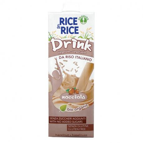 Boisson de riz noisettes 1L, RICE & RICE, Laits végétaux