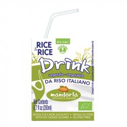 Boisson de riz amandes 200ml, RICE & RICE, Laits végétaux