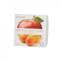 Appel/abrikozen compote 2x100g,Compote en yoghurt