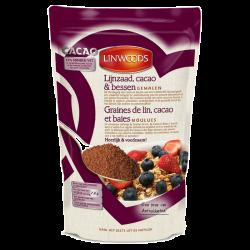 Linwoods graines de lin, cacao et baies 360g, Linwoods, Graines