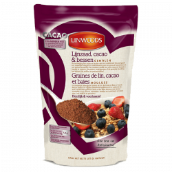 Linwoods graines de lin, cacao et baies 360g