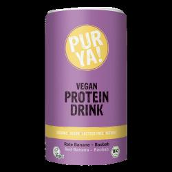 Purya boisson protéinée vegan banane-baobab 550g, Purya, Poudres