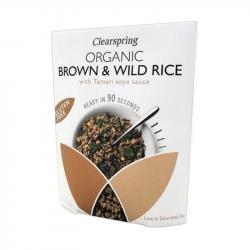 Riz complet & riz sauvage250g