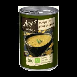 Amy's Soupe de pois cassés (bio et sans gluten) 400g, Amy's