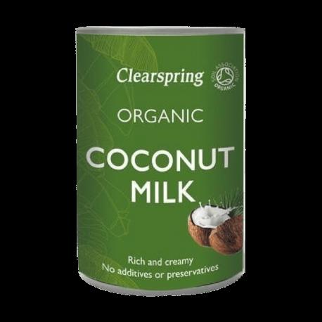 Lait de coco 400ml, CLEARSPRING, Laits végétaux